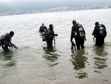 aber letzendlich haben es alle ins Wasser geschafft…